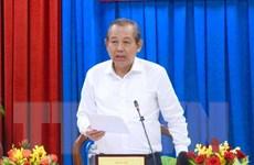 Phó Thủ tướng Trương Hòa Bình làm việc ở tỉnh Quảng Ninh