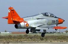 Máy bay quân sự của Tây Ban Nha rơi gần biển La Manga