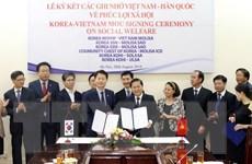 Việt Nam và Hàn Quốc hợp tác trong lĩnh vực phúc lợi xã hội