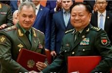 Trung Quốc và Nga cam kết tăng cường hợp tác trong lĩnh vực quân sự