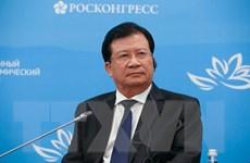 Phó Thủ tướng Trịnh Đình Dũng dự Phiên toàn thể tại VEF-5 tại Nga