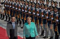 Thủ tướng Đức nhấn mạnh giải pháp đối thoại cho vấn đề Hong Kong