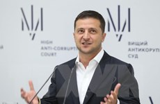 Tổng thống Ukraine Zelenskiy kêu gọi duy trì 'trừng phạt' với Nga
