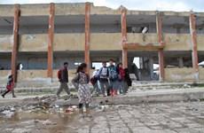Hàng nghìn người Syria trở về quê hương ở khu vực Tây Bắc đất nước