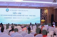 Diễn đàn kết nối doanh nghiệp nông nghiệp Việt Nam-Nhật Bản