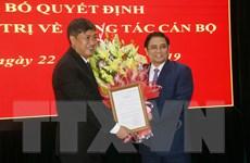 Trưởng ban Tổ chức TW làm việc và triển khai công tác cán bộ ở Sơn La