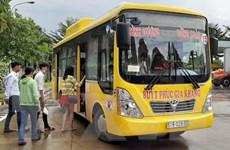 Vận hành xe buýt thân thiện môi trường kết nối Bình Dương-Bình Phước