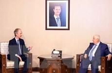 Đặc phái viên Liên hợp quốc gặp Ngoại trưởng Syria al-Moallem