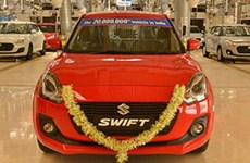 Ấn Độ: Hãng sản xuất xe khách Maruti Suzuki hạ giá xe để kích cầu