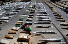 Quân đội Syria phát hiện nhiều vũ khí ở khu vực phía Nam