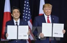 Mỹ và Nhật ra tuyên bố chung về kế hoạch tham vấn thương mại