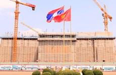 Tòa nhà Quốc hội mới của Lào: Biểu tượng của tình đoàn kết Lào-Việt