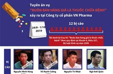 """Tuyên án vụ """"buôn bán hàng giả là thuốc chữa bệnh"""" xảy ra ở VN Pharma"""