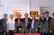 Đoàn đại biểu Đảng Cộng sản Việt Nam thăm, làm việc ở Anh, Bắc Ireland