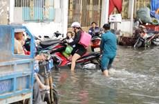 Chủ động ứng phó với triều cường, mưa và ngập úng ở khu vực Nam Bộ
