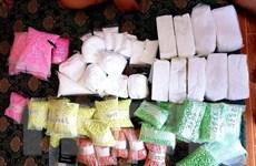Triệt phá đường dây cấp ma túy tổng hợp cho nhiều tụ điểm ăn chơi