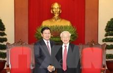 Thủ tướng Lào kết thúc chuyến thăm chính thức Việt Nam