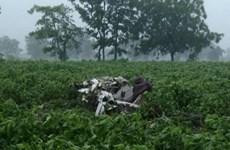 Rơi máy bay huấn luyện tại Ấn Độ, khiến 2 học viên thiệt mạng