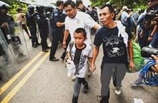 Quân cảnh Mexico chặn đoàn di cư khoảng 2.000 người đến Mỹ