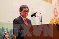 Triển lãm về thành quả ASEAN-Nhật Bản trong xây dựng cơ sở hạ tầng