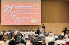 Đoàn Đảng Cộng sản Việt Nam dự Cuộc gặp Quốc tế các đảng cộng sản
