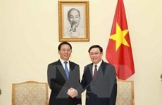 Phó Thủ tướng Vương Đình Huệ tiếp Phó Bí thư Tỉnh ủy Vân Nam