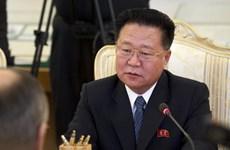 Chủ tịch Quốc hội Triều Tiên đề cập tới 'lập trường thù địch' của Mỹ