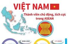 [Infographics] Việt Nam - thành viên chủ động, tích cực trong ASEAN