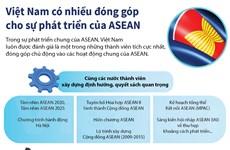 [Infographics] Việt Nam có nhiều đóng góp cho sự phát triển của ASEAN