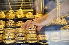 Giá vàng châu Á tăng do lo ngại về tăng trưởng kinh tế toàn cầu