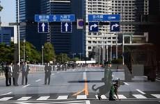 Tokyo thắt chặt an ninh trước lễ diễu hành đăng quang của Nhật hoàng