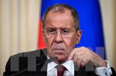 Ngoại trưởng Nga sẽ thúc đẩy đàm phán hiệp ước hòa bình với Nhật Bản