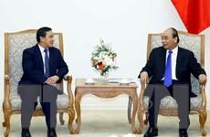 Thủ tướng Nguyễn Xuân Phúc tiếp tân Đại sứ Lào tại Việt Nam
