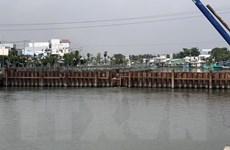 Kiên Giang xây dựng công trình kiểm soát mặn ven biển Tây