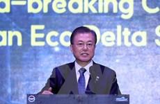 Lễ động thổ xây dựng thành phố thông minh Eco-Delta Busan