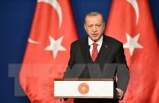 Tổng thống Thổ Nhĩ Kỳ Recep Tayyip Erdogan thăm Qatar