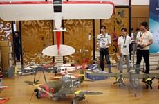 Triển lãm quốc tế về thiết bị công nghệ hàng không đầu tiên ở Việt Nam