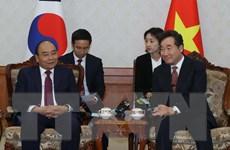 Chuyến thăm của Thủ tướng Nguyễn Xuân Phúc thúc đẩy quan hệ Việt-Hàn