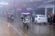 Rét hại bao phủ trên diện rộng các vùng núi cao ở Lào Cai