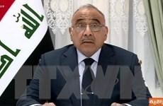 Thủ tướng Iraq Abdul Mahdi tổ chức phiên thảo luận về việc từ chức