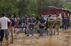 Tai nạn đường bộ thảm khốc ở Maroc, ít nhất 17 người thiệt mạng