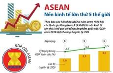 [Infographics] ASEAN là nền kinh tế lớn thứ 5 thế giới