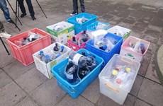 Cảnh sát Hong Kong thu hồi 59 chai hóa chất nguy hiểm bị đánh cắp