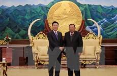 Lãnh đạo Lào đánh giá cao sự hỗ trợ của Bộ Tư pháp Việt Nam