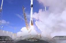 Công ty vũ trụ tư nhân SpaceX phóng tàu con thoi Dragon lên trạm ISS