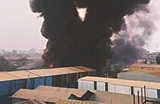 Bangladesh: Hỏa hoạn tại cơ sở sản xuất nhựa, 8 người tử vong