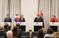 Australia và Hàn Quốc bày tỏ quan ngại về tình hình Biển Đông