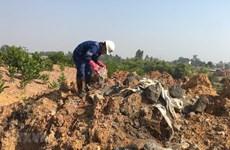 Xác định danh tính đối tượng vụ chôn lấp trái phép chất thải ở Sóc Sơn