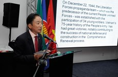 Brazil: Kỷ niệm ngày thành lập, công bố Sách Trắng Quốc phòng Việt Nam