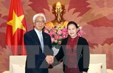 Chủ tịch Quốc hội tiếp Phó Chủ tịch Thượng viện Nhật Bản